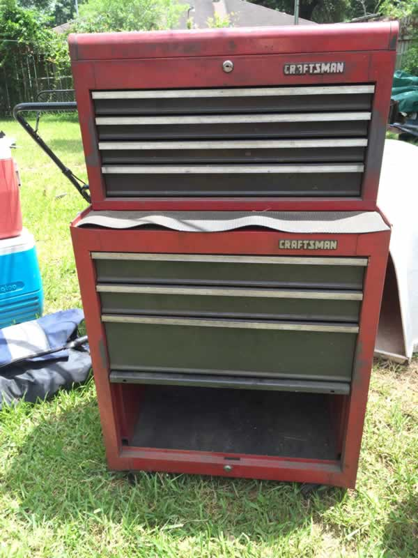 Craftsman Tool Box Estate Sale in Houston 07-05-2014